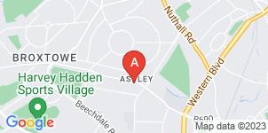 Google static map for Co-op Funeralcare, Aspley