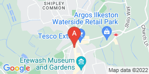 Google static map for Ilkeston Independent Funeral Service