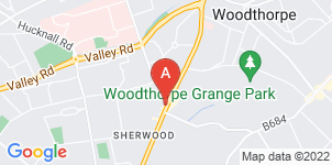 Google static map for Sherwood Funeralcare