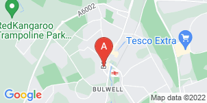 Google static map for C Terry Funeral Services