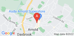 Google static map for Arnold & District Funeral Service