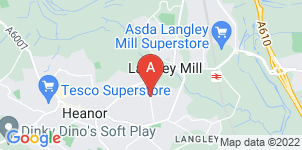 Google static map for The Co-operative Funeralcare Heanor