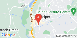 Google static map for The Co-operative Funeralcare Belper
