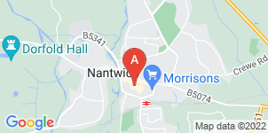 Google static map for Oxley's Funeral Services, Nantwich