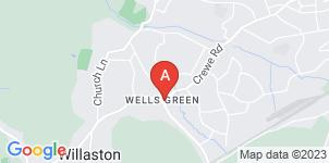 Google static map for Graham Tresidder Funeral Director, Crewe