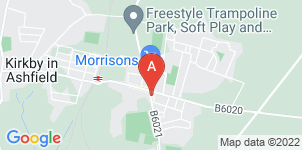 Google static map for Annesley & District Funeral Services