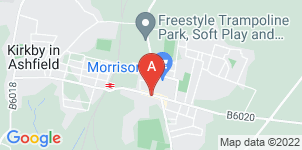 Google static map for A Wass Funeral Directors, Kirkby