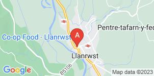 Google static map for G. Lloyd Jones Funeral Directors, Llanrwst