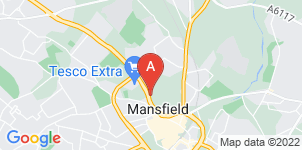 Google static map for A.W. Lymn Mansfield