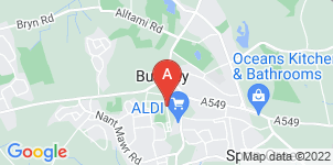 Google static map for Busby & Kane Independent Funeral Directors Ltd
