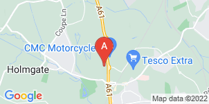 Google static map for The Co-operative Funeralcare Claycross