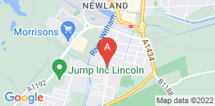 Google static map for Lincoln & Disitrict Funeral Directors