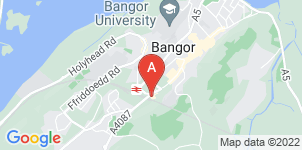 Google static map for Bangor Funeral Services