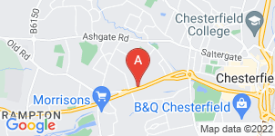 Google static map for B Hattersley & Sons Ltd