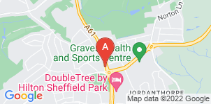 Google static map for Meadowhead Funeral Home