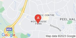 Google static map for James Bradley & Sons Funeral Directors, Wythenshawe