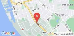 Google static map for Craven's Funeral Service, Toxteth