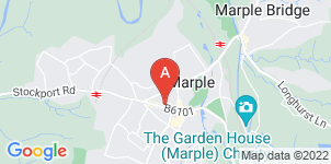 Google static map for Brian Sharples & Son Ltd, Marple