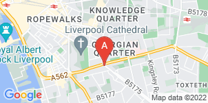Google static map for The Co-operative Funeralcare, Toxteth