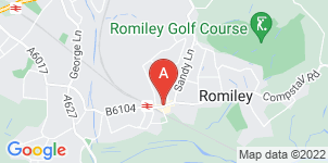 Google static map for Memories Funeral Services