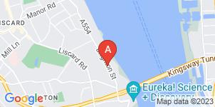 Google static map for Ian Dallinger Funeral Directors