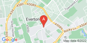 Google static map for R McDougall Funeral Service, Liverpool