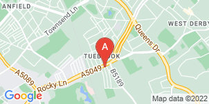 Google static map for Thompson's Funeral Directors, Tuebrook