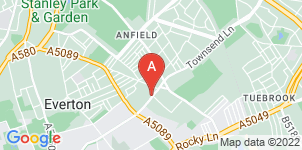 Google static map for Liverpool Funeralcare
