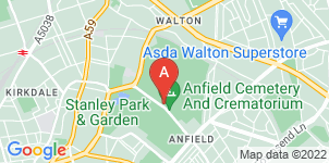 Google static map for Co-op Funeralcare, Priory Lodge Liverpool