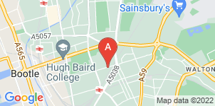 Google static map for Thompson Funeral Directors, Bedford House