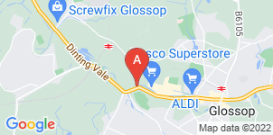 Google static map for Moss Funerals