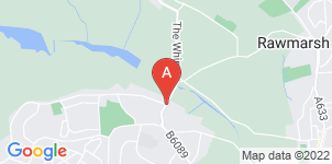 Google static map for A J Smith Funeral Directors