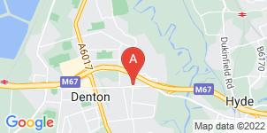 Google static map for S P Astley Funeral Directors