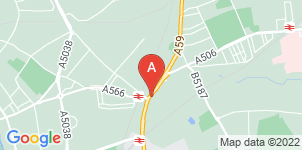 Google static map for Thompsons Funeral Directors, Aintree