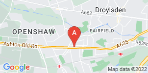 Google static map for Heathcotes Funeral Services