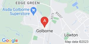 Google static map for Middleton & Wood Funeral Directors, Warrington