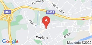 Google static map for Carriages Funeral Service Ltd, Eccles