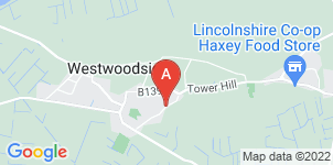 Google static map for Field Funeral Directors