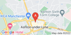 Google static map for Jason O'Brien & Family Funeral Services, Ashton under Lyne