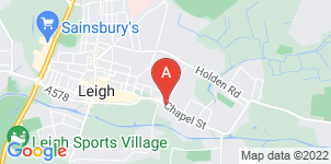 Google static map for Abbey Funerals, Leigh