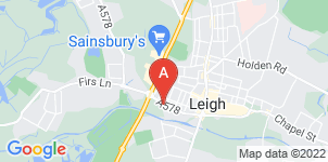 Google static map for Unsworths Funeral Directors, Leigh