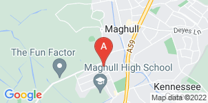 Google static map for Thompsons Funeral Directors, Maghull