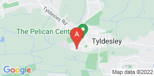 Google static map for Abbey Funerals, Tyldesley