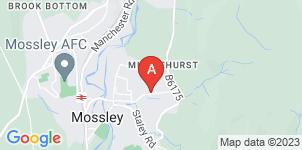 Google static map for J Mills Funeral Directors