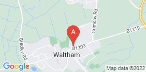 Google static map for Waltham Funeral Directors