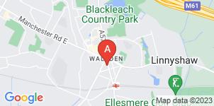 Google static map for Unique Funerals Ltd