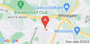 Google static map for S Wellens & Sons Funeral Directors, New Moston