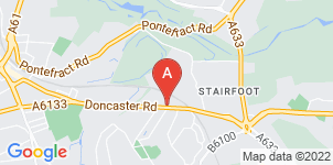 Google static map for Alliance Funeral Care, Barnsley
