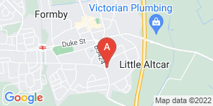 Google static map for Barringtons Independent  Funeral Services - Formby