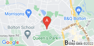 Google static map for Shaws Funeralcare, Bolton